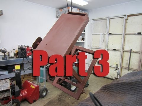 How To Build a Welding Cart For A Mig & Stick Welder Part 3/4