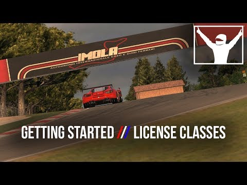 Getting Started // 2. License Classes