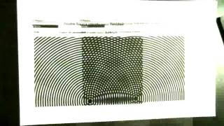 7 1B   Interference Pattern Demo with Overhead Transparencies