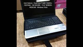 Used Laptop Wholesale - 50 x Budget Used Windows Vista Retail – Deal 184