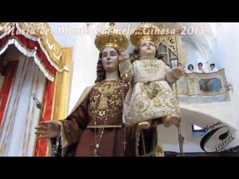 GINOSA(TA)...PROCESSIONE 2013 DELLA BEATA VERGINE MARIA DEL MONTE CARMELO