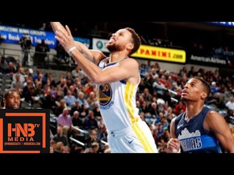Golden State Warriors vs Dallas Mavericks Full Game Highlights / Jan 3 / 2017-18 NBA Season