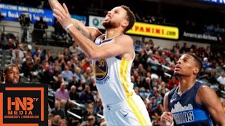 Golden State Warriors vs Dallas Mavericks Full Game Highlights / Jan 3 / 2017-18 NBA Season