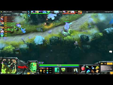 Newbee vs Immortal Magneto Game 1 - MSI Beat IT 2014 Global @Baskip