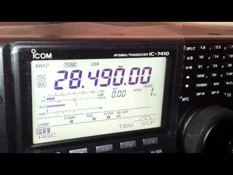 ZL1AZT QSO with VK5MRD 10m 29/08/2012
