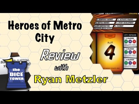 Heroes of Metro City Review - with Ryan Metzler