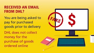 How to recognize fraudulent emails   DHL