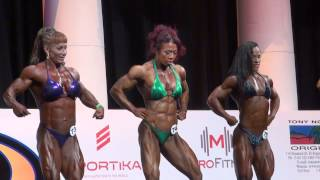 2013 Arnold Amateur Prejudging Women's Bodybuilding Heavyweight
