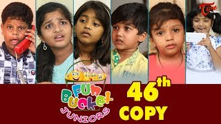 Fun Bucket JUNIORS | Episode 46 | Kids Funny Videos | Comedy Web Series | By Sai Teja - TeluguOne