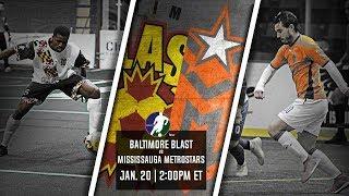 Baltimore Blast vs Mississauga MetroStars