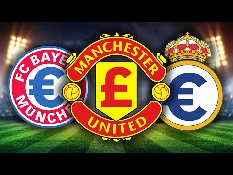 Top 10 Richest Football Clubs 2016
