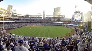 Opening Day 2016 Dodgers vs SD Padres Pantone 294 Road trip 4/4/16