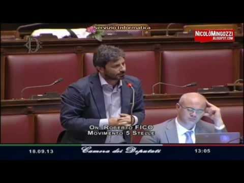 """Pd-Pdl-Sel-Sc contro i CinqueStelle: """"Insulti inaccettabili, fomentano il web"""" (Camera, 18/09/2013)"""