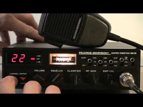 PEARCE SIMPSON SUPER CHEETAH MKIII AM/SSB CB RADIO