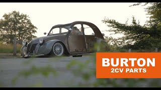 'Made to be driven, 1956 Citroën 2CV AZ ' - Burton Car Company (subtitled)