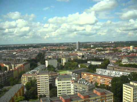 The beautiful view on Szczecin