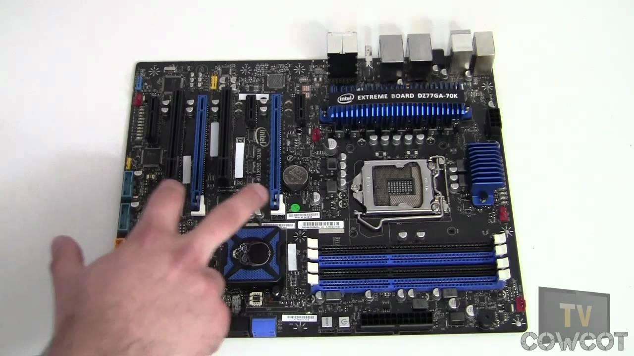 Intel Extreme Motherboard Dz77ga-70k Mère Intel Dz77ga-70k
