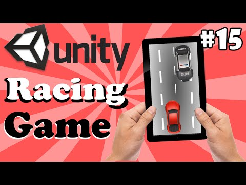15.Unity Racing Game Development Tutorial- Adding Score UI