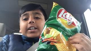 Trying weird chip flavor