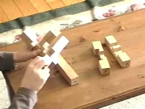 casse t te de bois la croix du charpentier youtube. Black Bedroom Furniture Sets. Home Design Ideas