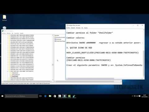 Quitar Carpetas y Accesos Directos en Windows 10