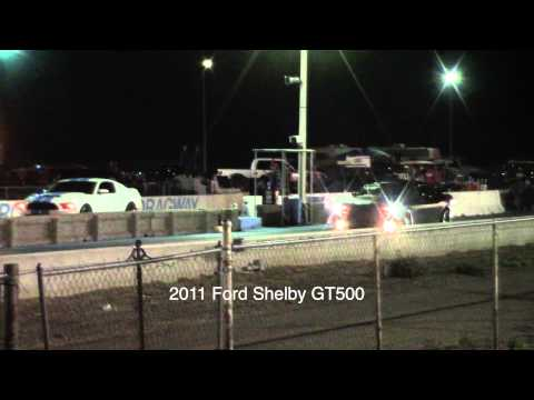 2011 Dodge Challenger 392 vs 2011 Shelby GT500