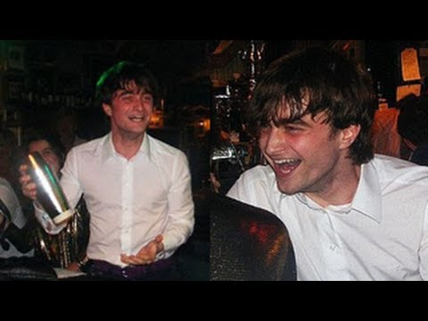 Daniel Radcliffe's Drinking Binge During Harry Potter