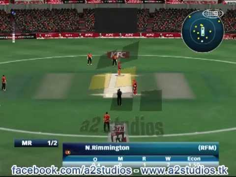 EA Sports Cricket 2013 2014 BBL 2 Patch by A2 Stud