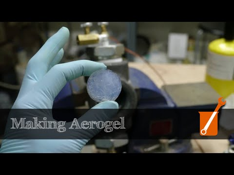 Making silica aerogel at home