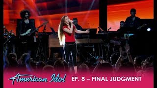 Mara Justine: The Youngest 'Idol' Contestant Delivers a SHOW-STOPPER!! | American Idol 2018