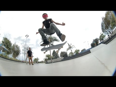 Blindfolded Game Of Sk8 - Jeff Dechesare & Mikey Jones