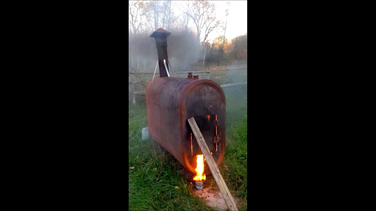 Homemade Incinerator 5 Youtube