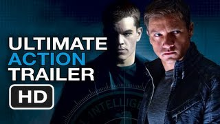 The Bourne Legacy - The Bourne Legacy Ultimate Action Trailer - Matt Damon, Jeremy Renner Movies HD