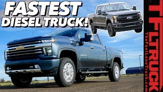New 2020 Chevy HD Diesel Impresses with Speed, But Is It Enough to Beat the F-250?