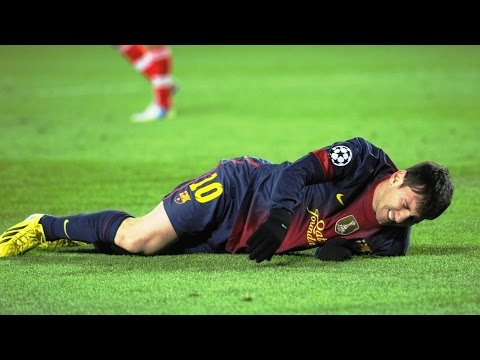 The 10 Worst Tackles / Brutal Fouls on Lionel Messi  ► Only Way to Stop MESSI ||HD||