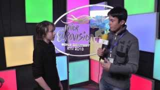 JESC 2013: Interview with Elias from Sweden