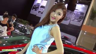 Hot Girl Model In Car Show, Car Event 2015 Part 60