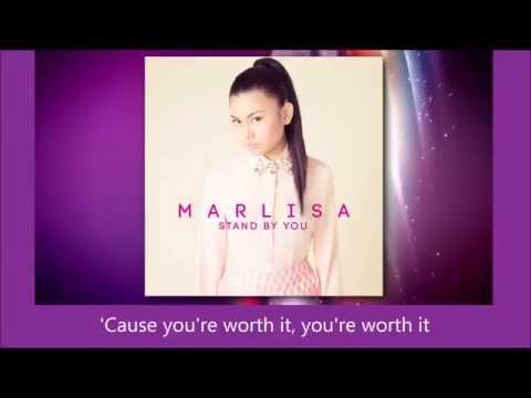 Marlisa Punzalan - Stand By You - Winner's Single - lyrics (FULL SONG)