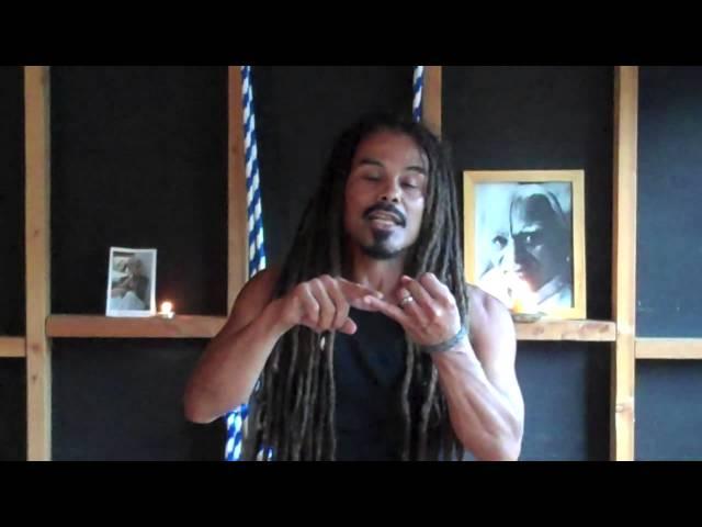 Let's Raise ISHAR YOGA WAVE: Pagan @Liberation Yoga - Half Moon Pose - Deepak Chopra