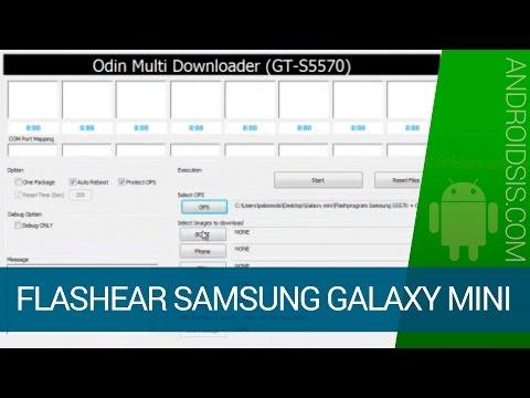 Cómo flashear con Odín Multi-Downloader los smartphones de la serie Samsung Galaxy Mini