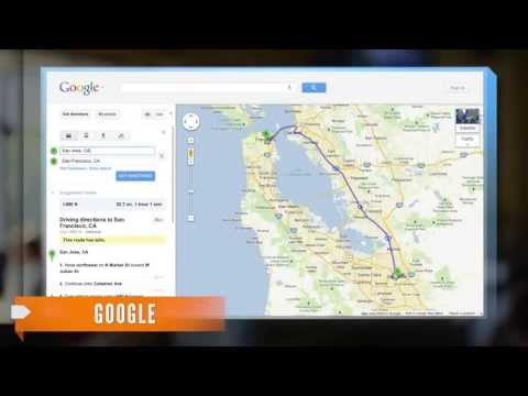 Google Maps Redesign in Cards