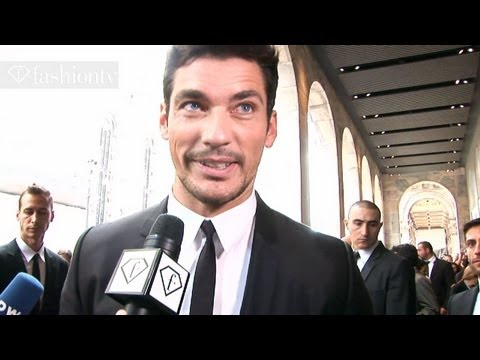 Dolce & Gabbana - Day with David Gandy @ Milan Men s Fashion Week Spring 2012 | FashionTV - FTV