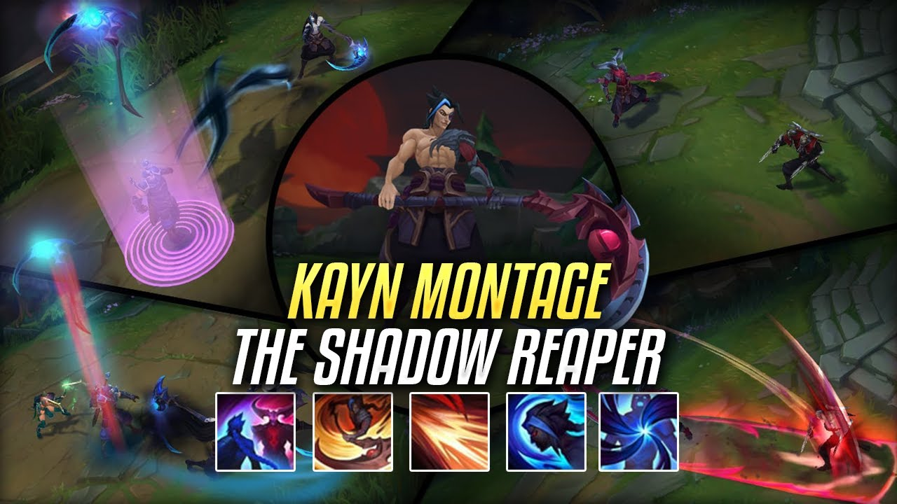Kayn Montage - The Shadow Reaper | Shadow Assassin Kayn New Champion (League of Legends)