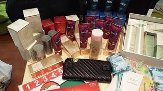Unboxing Oriflame C15
