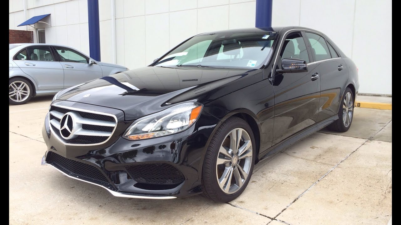 2014 Mercedes Benz E350 E Class Start Up Exhaust And In