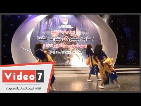 رقصات استعراضية فى احتفالية وزارة الشباب بذكرى انتصارات أكتوبر