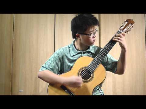 Kevin Loh (14) plays (I - Garrotin) Hommage a Tárrega - Joaquín TURINA