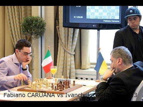 Ajedrez Fabiano Caruana Ajedrez Grand Prix Grecia 2013 Ajedrez Fabiano Caruana vs Ivanchuk