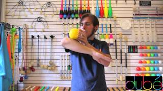 Kyle Johnson teaches contact juggling: The Elbow Stall
