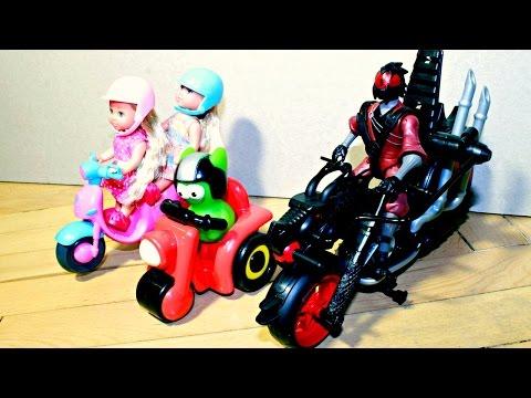 Домашний Патруль - Машинки и загадочный мотоциклист